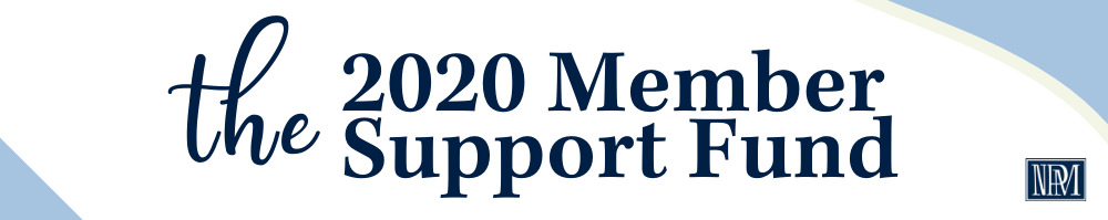 2020 member support fund button for website